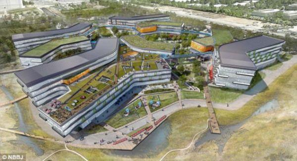 Google gradi novo futurističko sjedište