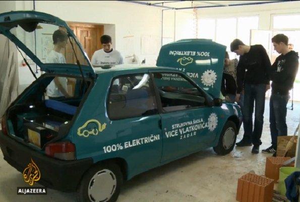 Automobili na električni pogon zadarskih učenika