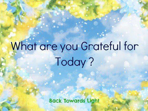 Za šta smo zahvalni danas?