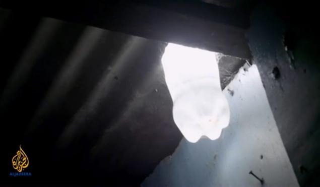 Izvanredan izum: Super svjetlo pomoću plastične boce i izbjeljivača
