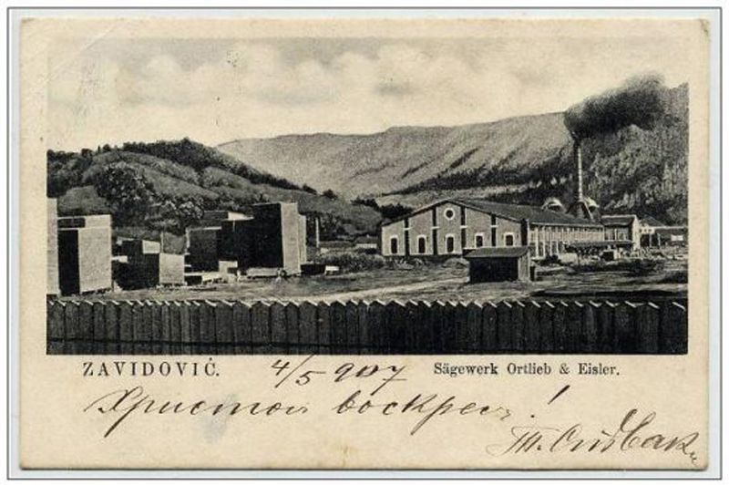 Stare razglednice: Zavidovići