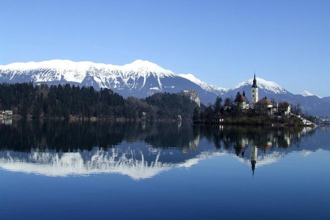 Bledsko Jezero, Slovenia