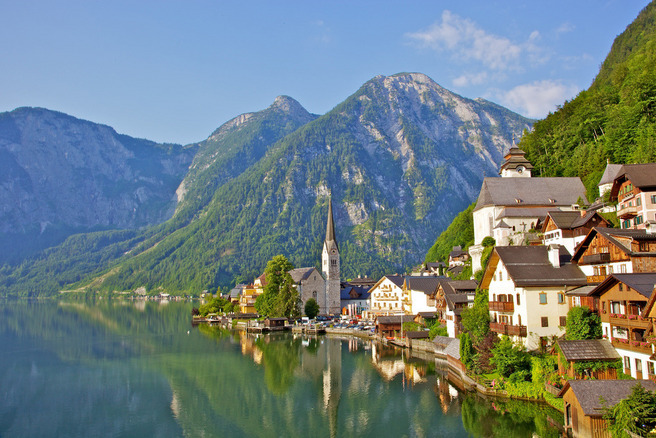 Hallstatt Jezero, Austrija