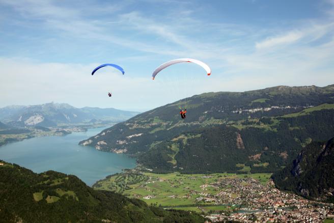 Jezero Interlaken, Švicarska