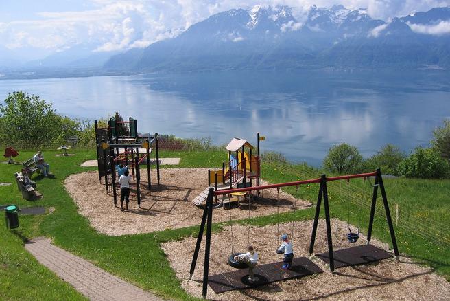 Ženevsko Jezero, Švicarska-Francuska