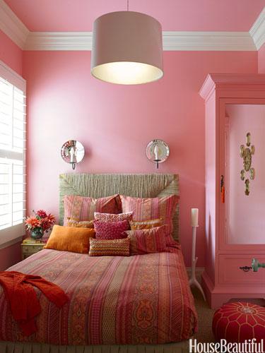 Spavaća soba u predivnim kombinacijama boja
