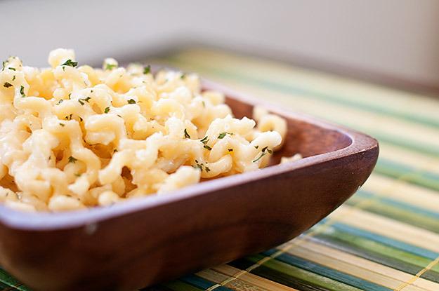 4 vrste sira: Umak za tjesteninu