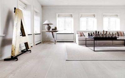 Bijeli podovi za moderan prostor