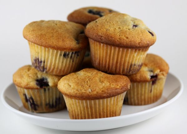 Muffins sa limunom i grožđicama