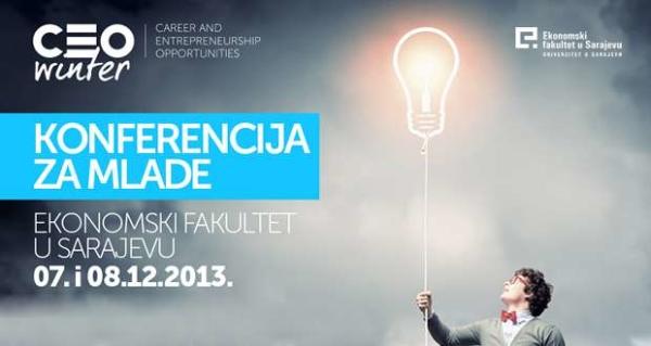 CEO konferencija na Ekonomskom fakultetu u Sarajevu