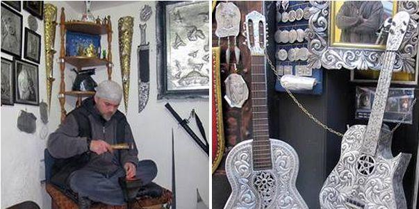 Omar Krasnić: Kazandžija koji kuje gitare i nakit iz reciklaže