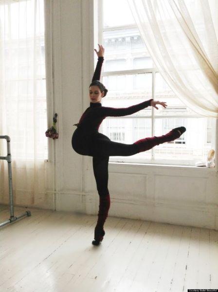 """Balerina u 9. mjesecu trudnoće: """"Mame slavite svoje tijelo"""""""