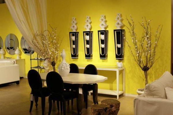Uređivanje doma u žutoj boji