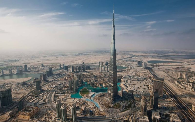 Romantično putovanje u Dubai