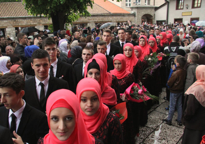 Gazi Husrev-begova medresa u Sarajevu ispratila 109 maturanata