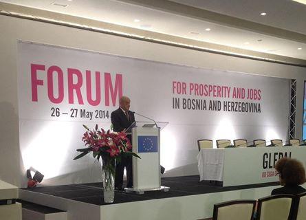 U Sarajevu počeo Forum za prosperitet i zapošljavanje: BiH je neophodna pomoć izvana