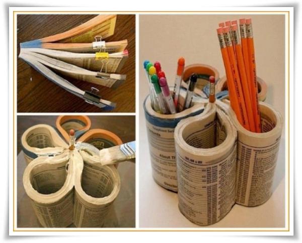 Od starog kataloga do posude za olovke