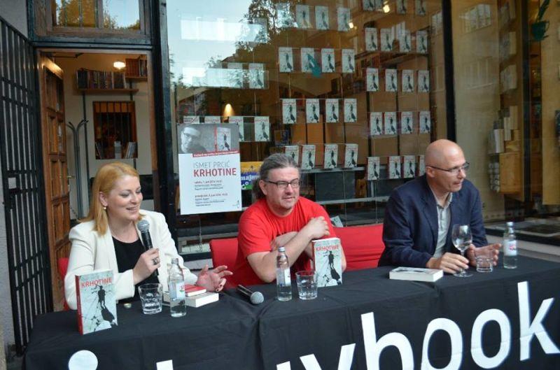 """Predstavljen roman prvijenac Ismeta Prcića """"Krhotine"""": Svi pričaju svoje priče"""