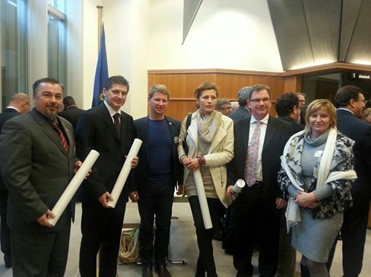 """NP """"Una"""" u Evropskom parlamentu dodijeljen Evropski certifikat za održivi turizam"""