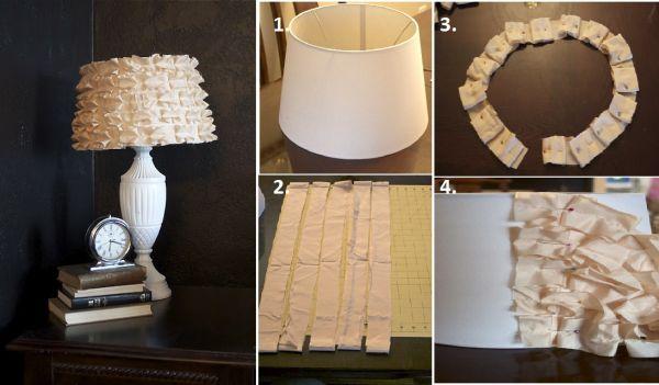 Kreativne ideje unikatne stolne ili zidne lampe