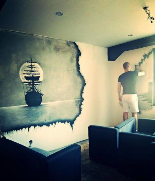 Zavidovićanin pravi remek-djela na zidovima objekata