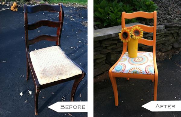 Drvene stolice kreativne ideje