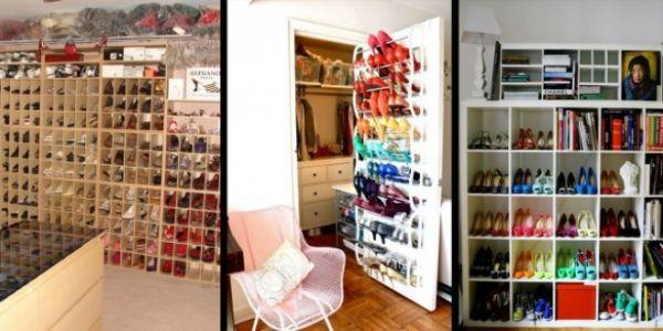 Ormari za cipele kreativne idjeje