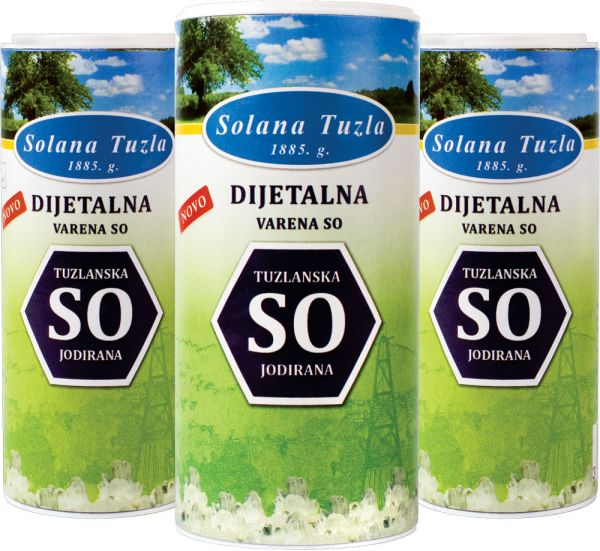Tuzla: Solana proizvela 128.000 tona soli, izvoz povećan za 80 posto