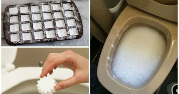 """Kreativne ideje: Napravi prirodne """"bombice"""" za čišćenje WC-a"""